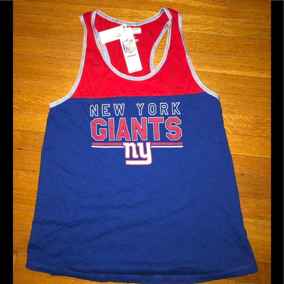 NFL Tops - Women's New York Giants Tank Top (NWT) Size L